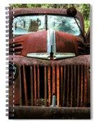 Truck In Medow Spiral Notebook