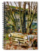 Truck N Tree Spiral Notebook