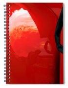 Truck Reflection 2 Spiral Notebook