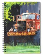 Truck Rusted Spiral Notebook