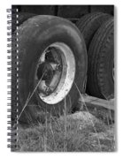 Truck Tires Spiral Notebook
