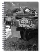 Trucks And Sky Spiral Notebook