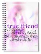 True Friends Spiral Notebook