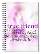 True Friends Spiral Notebook