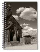 True Religion Tobacco Spiral Notebook