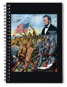 True Sons Of Freedom -- Ww1 Propaganda Spiral Notebook