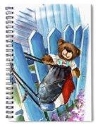 Truffle Mcfurry In Runswick Bay Spiral Notebook