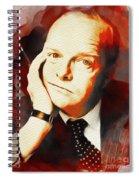 Truman Capote, Literary Legend Spiral Notebook