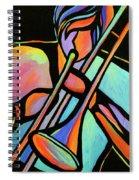 Trombonist Spiral Notebook