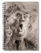Trump A Dengerous A-hole Spiral Notebook
