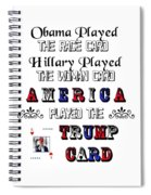 Trump Card Spiral Notebook