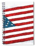 Trump Sweeps Under The Flag Rug Spiral Notebook