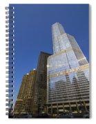 Trump Tower And Marina City Spiral Notebook