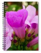Trumpet Flower 5 Spiral Notebook