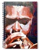 Trumpeters Spiral Notebook