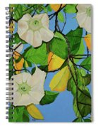 Trumpets In Paradise Spiral Notebook