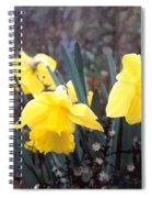 Trumpets Of Spring Spiral Notebook