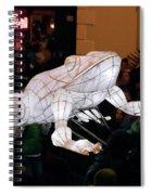 Truro Lantern Parade Frog Spiral Notebook