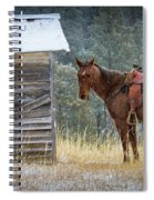 Trusty Horse  Spiral Notebook