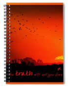 Truth Spiral Notebook