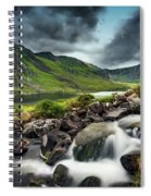Tryfan And Ogwen Lake Spiral Notebook