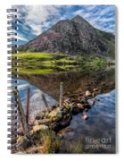 Tryfan Reflections Spiral Notebook