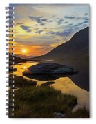 Tryfan Surnise Spiral Notebook