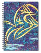 Trying New Waters Spiral Notebook
