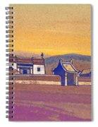 Tsagan-kure, Inner Mongolia Spiral Notebook