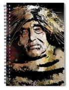 Tsawatenok Man Spiral Notebook