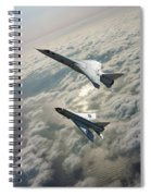 Tsr.2 Advanced Bomber And Lightning Interceptor Spiral Notebook