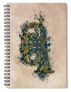 Tuba Spiral Notebook