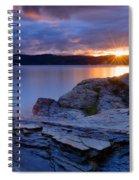 Tubbs Hill Sunset Spiral Notebook