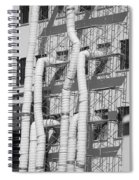 Tube Construction Spiral Notebook