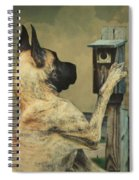 Tucker And The Birdhouse Spiral Notebook