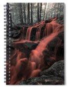 Tucker Brook Falls Ir 1 Spiral Notebook