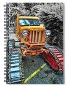 Tucker Sno Cat -- Wallace Idaho Spiral Notebook
