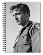 Tucson Arizona Army Reservist Taking Part In Summer Camp Exercise Death Valley  Ca 1968 Spiral Notebook