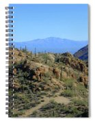 Tucson Mountain Ranges Spiral Notebook