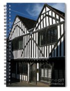 Tudor Timber Spiral Notebook