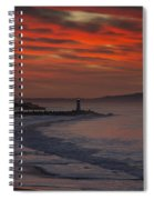 Tuesday Sunrise Spiral Notebook