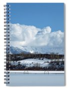 Tuff Over Baldy Spiral Notebook