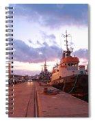 Tug Boats Spiral Notebook