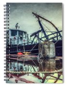 Tug In The Fog Spiral Notebook