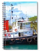 Tug On It Spiral Notebook