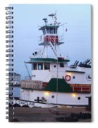 Tugboat At Twilight Spiral Notebook
