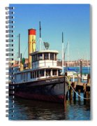 Tugboat Baltimore At The Museum Of Industry Spiral Notebook