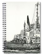 Tugboat David Foss Spiral Notebook