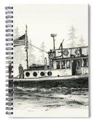 Tugboat Henrietta Foss Spiral Notebook