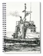 Tugboat Kelly Foss Spiral Notebook